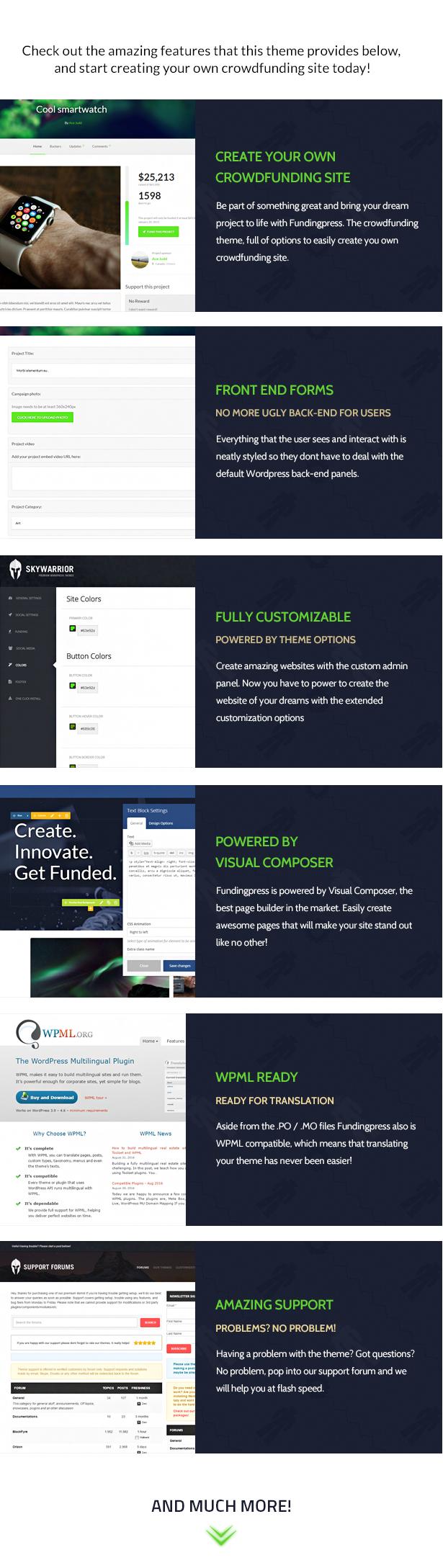 Fundingpress - The Crowdfunding WordPress Theme - 3